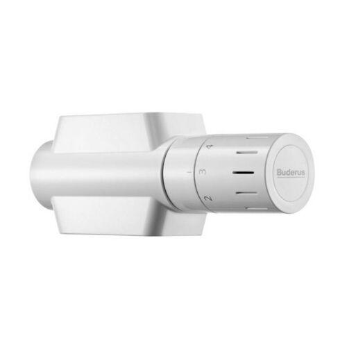 Buderus Logafix Universalarmatur-Set 3/4 x 1/2 Thermostatkopf für Heizkörper