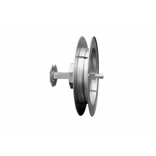 Schellenberg Gurtscheibe MAXI  20 cm  Metall  mit Verstärkung für besonders schwere Rolläden
