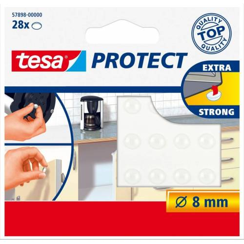 tesa SE tesa Protect® Lärmstopper  rund  transparent  28 Stück