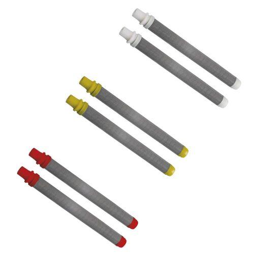 Wagner Group WAGNER Pistolenfilter für Airless-Farbspritzgeräte (2 Stück) in Weiß, Rot oder Gelb