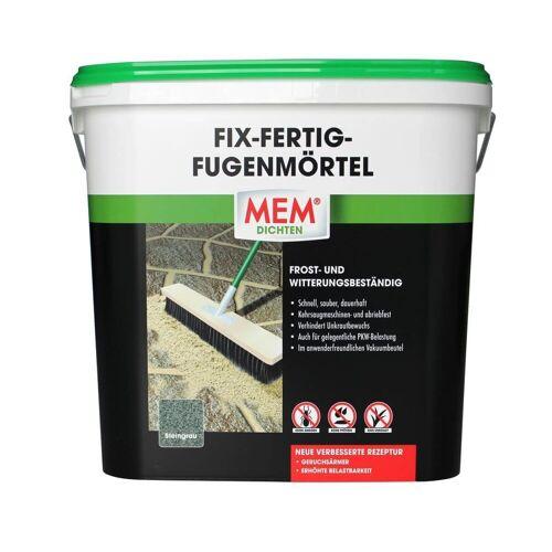 MEM Bauchemie GmbH MEM Fix-Fertig-Fugenmörtel Steingrau 12,5 kg  Fugenmasse außen, Pflasterfuge, Fugensand