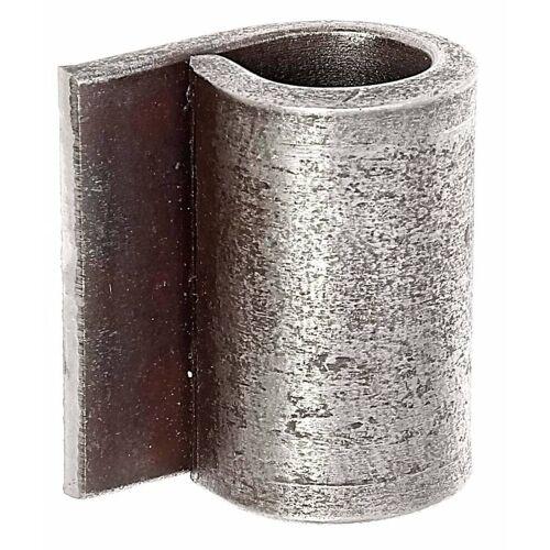 GAH Alberts GAH Anschweißband Ø 16 mm, Kante-Rolle 25 mm, zum Anschweißen, Stahl roh
