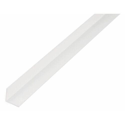 GAH Alberts GAH 1 m Winkelprofil 7 x 7 x 1 mm Weiß Kunststoff, Profil-Ecke