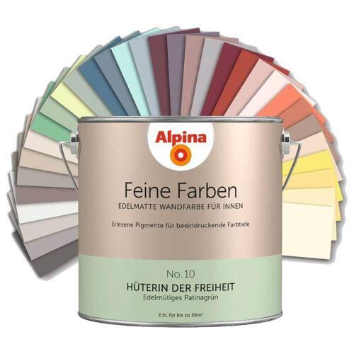 Alpina Farben Alpina Feine Farben - Edelmatte Wandfarbe für Innen, alle 32 Farbtöne, 2,5L Dose