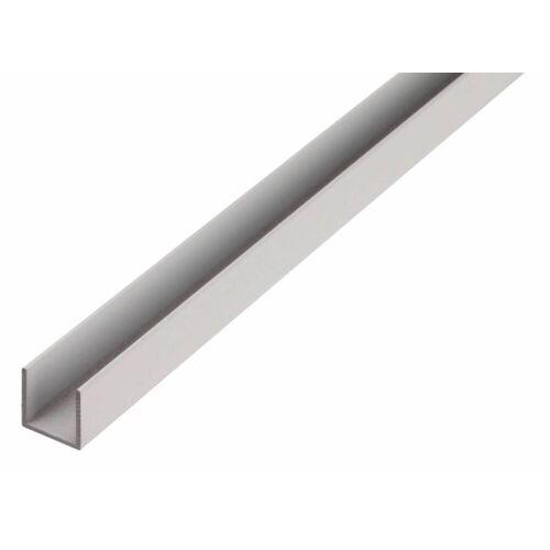 GAH Alberts GAH 2,6 m BA-Profil U-Form Alu 8 x 8 x 8 x 1 mm, U-Profil