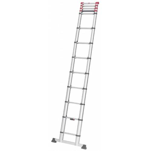 Hailo Aluminium-Sicherheits-Teleskopleiter  9 bis 13 Sprossen  T80 FlexLine  zusammenschiebbar