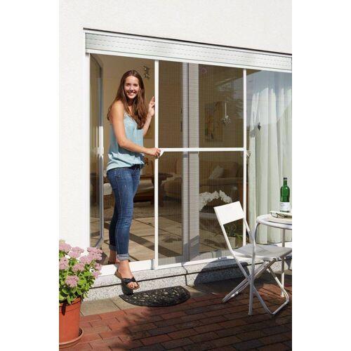 Schellenberg Insektenschutz Schiebetür, Fliegengitter Tür zum Schieben, 120 x 240 cm