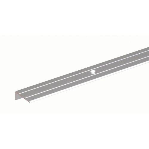 GAH Alberts GAH 2 m Treppenkanten-Schutzprofil Alu, Silber B: 24,5 H: 10 mm Stärke: 1,5 mm  Treppen-Schutz