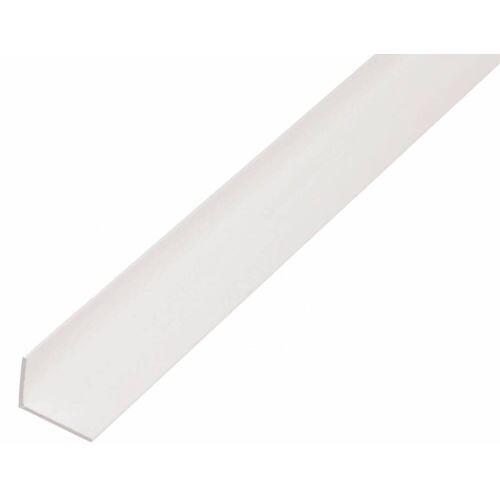 GAH Alberts GAH 2,6 m Winkelprofil 40 x 10 x 2 mm Weiß Kunststoff, Profil-Ecke