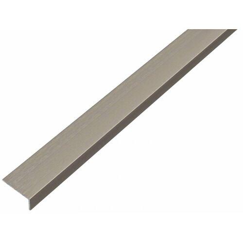 GAH Alberts GAH 1 m Winkelprofil 20 x 10 x 1 mm Edelstahl Alu, Profil-Ecke