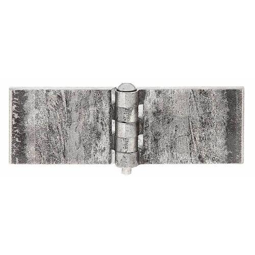 GAH Alberts Scharnier,breit,roh,zum Aufschraubennschw ,40 x 120
