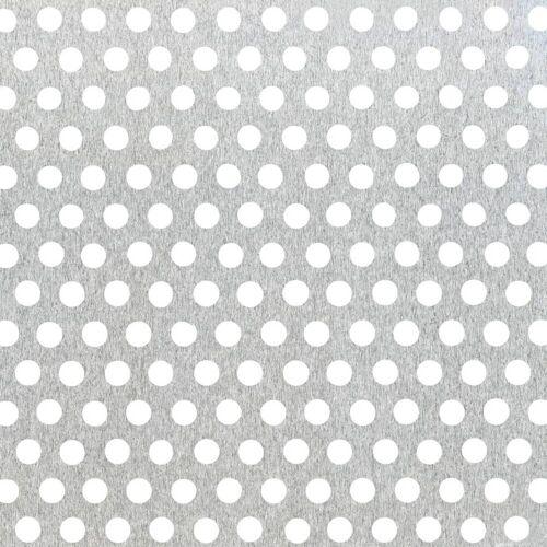 GAH Alberts GAH Lochblech 250 x 500 x 0,8 mm Natur Alu, rund