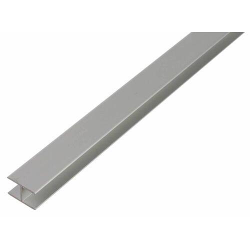 GAH Alberts GAH 1 m H-Profil zum Klemmen 5,9 x 20 x 1,5 mm Silber Alu, klemmbar