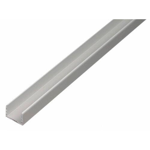 GAH Alberts GAH 1 m U-Profil zum Klemmen 10 x 8,9 x 10 x 1,5 mm Silber Alu, klemmbar