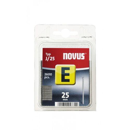 Novus Tackernagel E, Typ J, 25 mm Länge, 1000 Stück