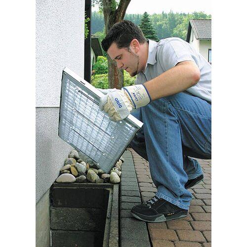 Schellenberg Lichtschacht Aluminiumgewebe, 50 x 125 cm  Lichtschacht-Insektenschutz
