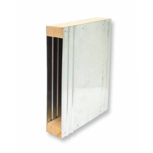 Schellenberg Mauerkasten verzinkt MAXI für Einlasswickler und elektrische Gurtwickler