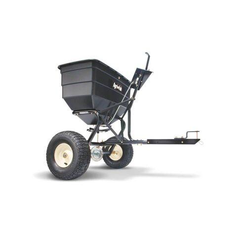 MTD Products MTD Anhängestreuer für Rasentraktoren, groß, 80 kg Fassungsvermögen, Streuwagen für Aufsitzmäher