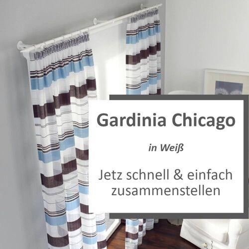 Gardinia Chicago Gardinensystem Konfigurator in Weiß - Hier zusammenstellen
