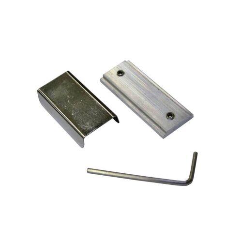 Gardinia Schienenverbinder für Gardinia Aluminium-Vorhangschiene LUNA, Gardinenschiene