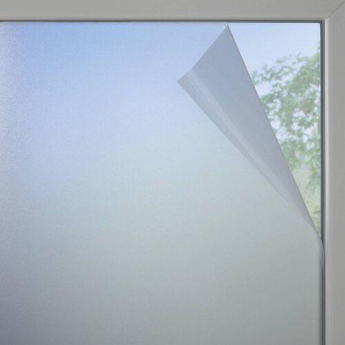 Gardinia Fensterfolie Milchglas-optik weiß-matt, selbsthaftend, zuschneidbar, lichtdurchlässig
