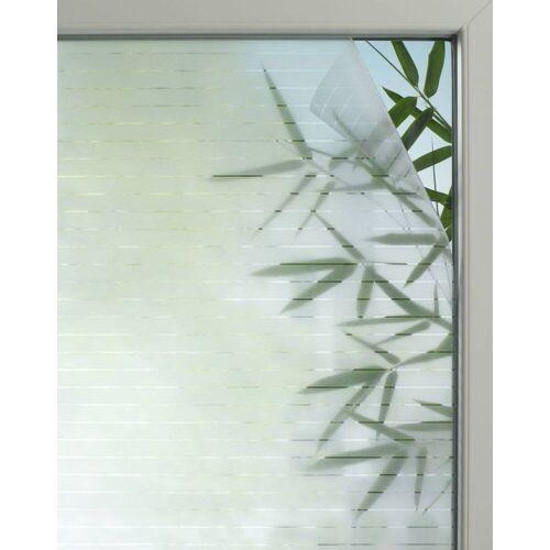 Gardinia Fensterfolie Line 25, semitransparent, selbsthaftend, zuschneidbar, lichtdurchlässig