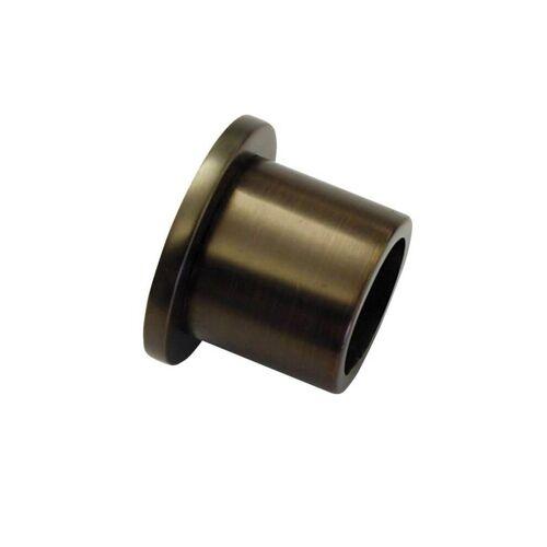 Gardinia Chicago 1 x Wandlager für Ø 20 mm Gardinenstange, Wandbefestigung, Bronze