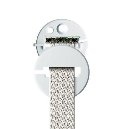 Schellenberg Gurtführung Standard rund Weiß, für 14-24 mm Gurt, 51103
