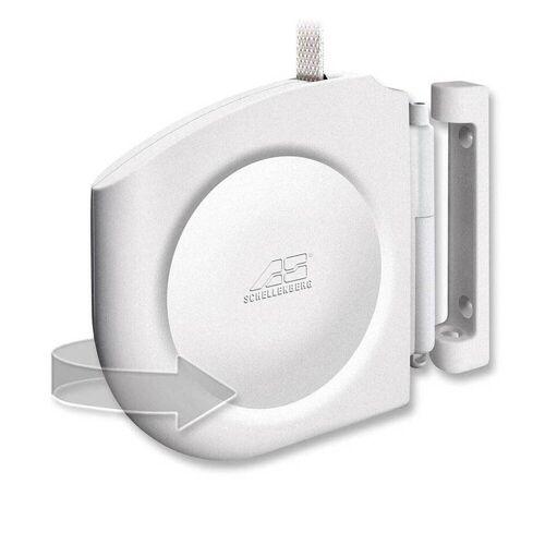 Schellenberg Design Aufschraubwickler Mini Weiß  Besonders kleiner Gurtwickler  50150