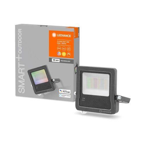Ledvance GmbH Ledvance SMART+ WiFi LED Strahler Flood, IP65, 3000 K, Warmweiß, Dimmbar, RGBW