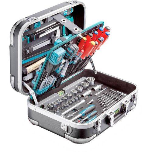 technocraft Professional Werkzeugkoffer Pro Chrome 152, 152-teilig, ABS Werkzeugkasten
