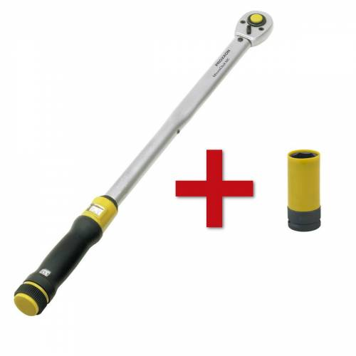 "Proxxon GmbH Proxxon Drehmomentschlüssel MC 200  MC 320 + Radmutter 1/2"" 17 mm, 19 mm oder 21 mm  85 mm Länge"