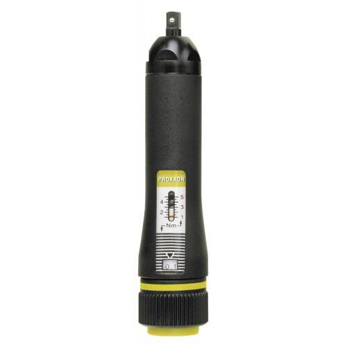 "Proxxon GmbH Proxxon MICRO-Click-Drehmomentschrauber MC 5, 1 - 5 Nm, 1/4"""