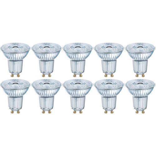 OSRAM GmbH Osram 10er Pack LED BASE PAR16 2,6W = 35W GU10 Strahler 230 lm 36° 2700 K Warmweiß