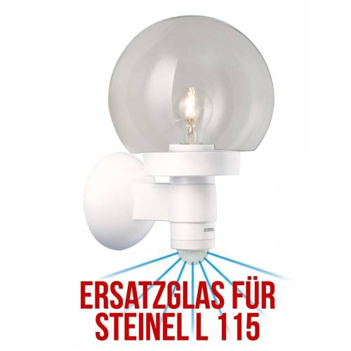 Steinel Ersatzglas L 115 S Glaskugel als Ersatz für Ihre Außenlampe