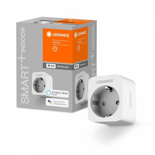 Ledvance GmbH Ledvance SMART+ WiFi Plug EU, WLAN-Steckdose, Energieverbrauch-Überwachung