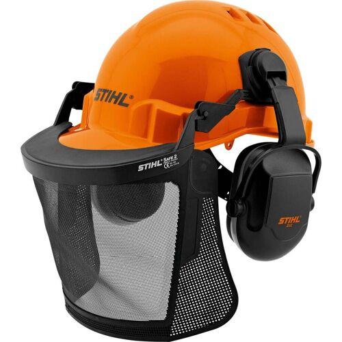 Stihl Helmset FUNCTION Basic  Kopfschutz zur Arbeitssicherheit  Gehörschutz SNR 24  Komplett-Set