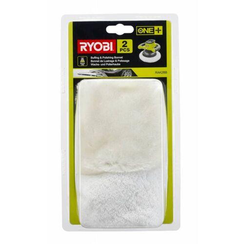 Ryobi Wachs- und Polierhauben Set  für Akku-Polierer  RAK2BB