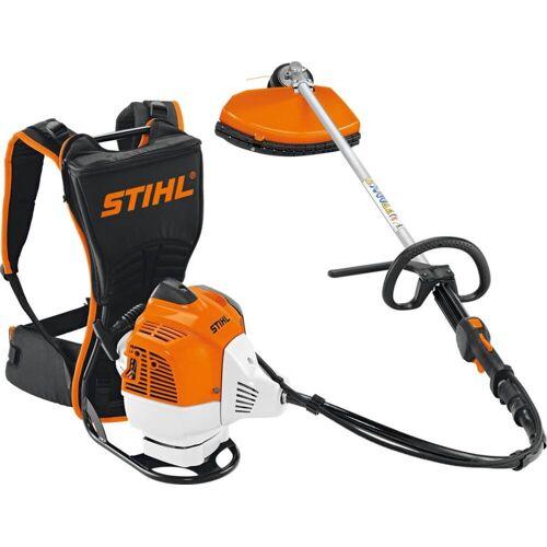 STIHL FR 410 C-E Benzin-Motorsense, 2,7 PS = 2 kW, 41,6 cm³  Rasentrimmer für Steigungen