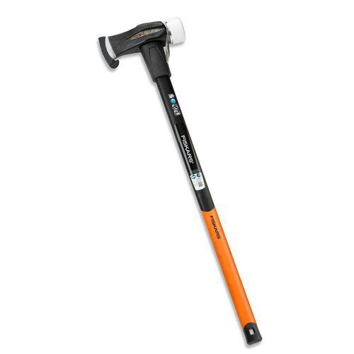 Fiskars Spalthammer SAFE-T X39  Spaltbeil, Holzspalter, Holzhammer, Axt, Spaltaxt