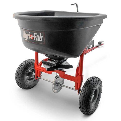 MTD Products MTD Anhängestreuer für Rasentraktoren, 50 kg Fassungsvermögen, Streuwagen für Aufsitzmäher