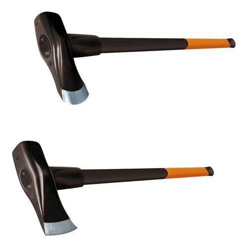 Fiskars Spalthammer X37 & X46  Spaltbeil, Holzspalter, Holzhammer, Axt, Spaltaxt