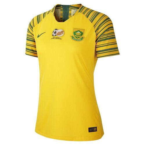 Nike Südafrika 2019 Home Damen-Fußballtrikot - Gelb, XS