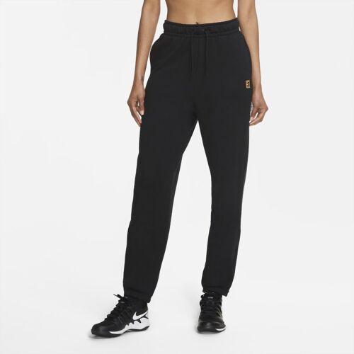 NikeCourt Damen-Tennishose - Schwarz M Female