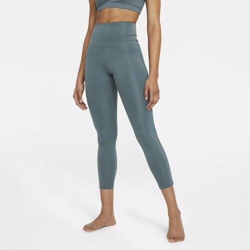 Nike Yoga damen-leggings mit 7/8 neuheiten - Grün, S