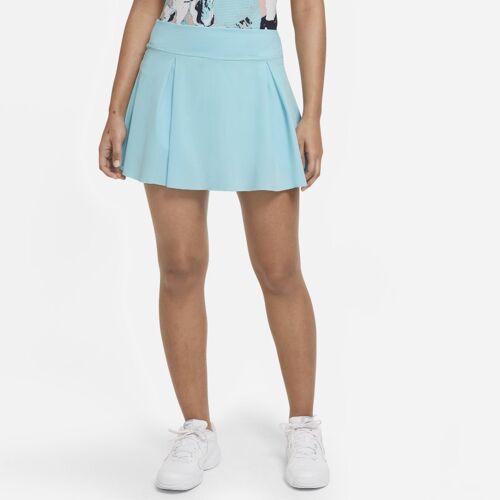 Nike Club Skirt kurzer Tennisrock für Damen - Blau L Female