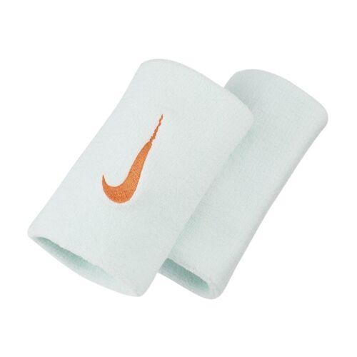 NikeCourt Premier Schweißarmbänder in doppelter Breite - Grün ONE SIZE Unisex