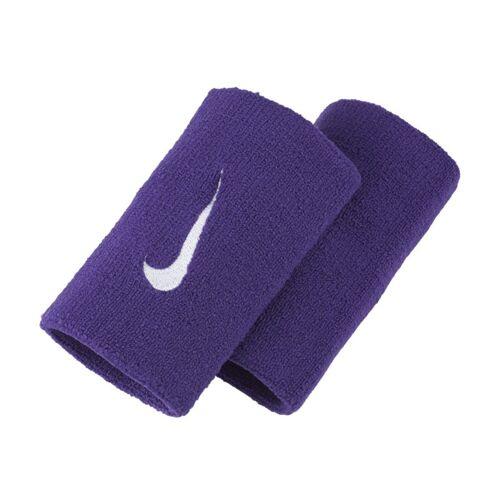 NikeCourt Premier Schweißarmbänder in doppelter Breite - Lila, ONE SIZE
