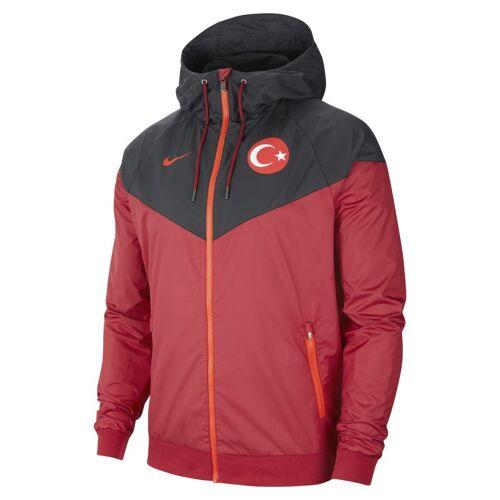 Nike Türkei Windrunner Herren-Webjacke - Rot S Male