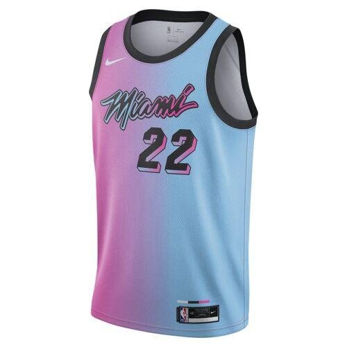 Nike Miami Heat City Edition Nike NBA Swingman Trikot - Pink L Male